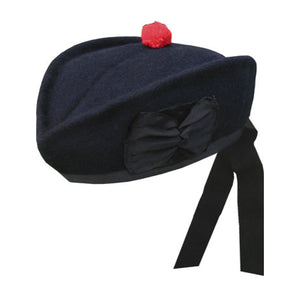 Navy Glengarry Hat