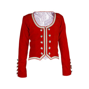 Red Velvet Highland Dance Jacket