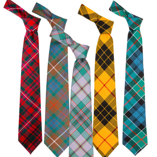 Scottish Tartan Tie