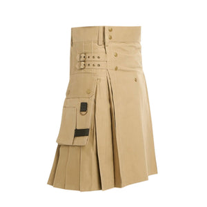 Working Utility Kilt Heavy Cotton For Men