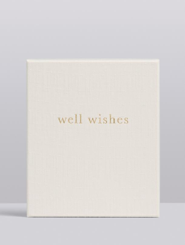 Well Wishes, Guest Book, White, Boxed