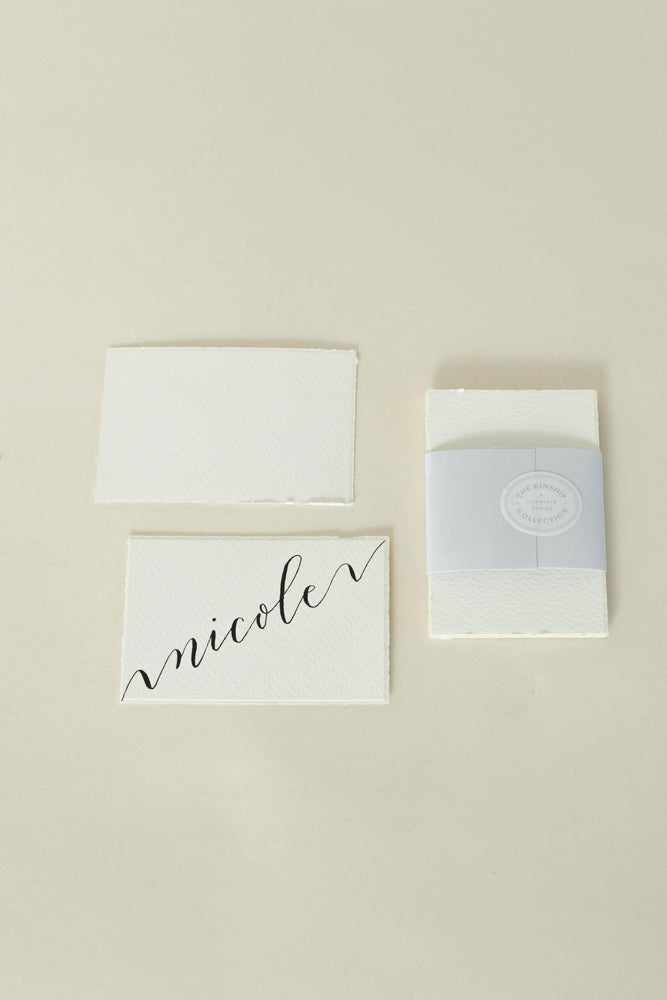 Deckled Edge Place Cards, Seating Cards
