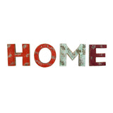 Wooden Home Wall Word Sign