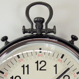 Metal Wall Pocket Watch Clock