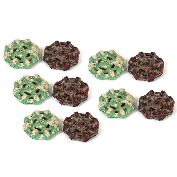 Resin Faucet Magnets - Set of 10