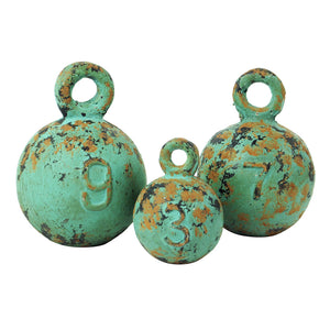 Resin Weights - Set of 3