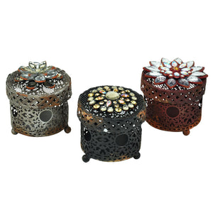 Floral Inspired Jewellery Boxes - Set of 3