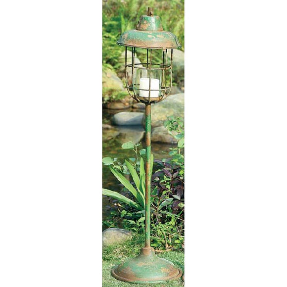 Metal Pillar Lantern Holder Small