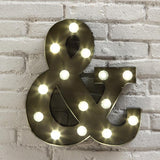 "LED Marquee ""&"" Wall Sign"