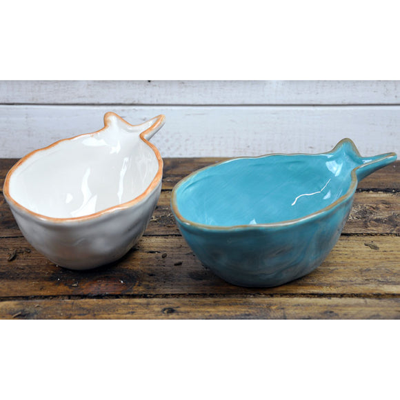 Dolomite Fish Bowls - Set of 2