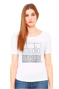 Studio Barre Logo Tee w/ Open Back