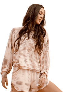 DYI Lounge Sweatshirt Sunrise Tie Dye