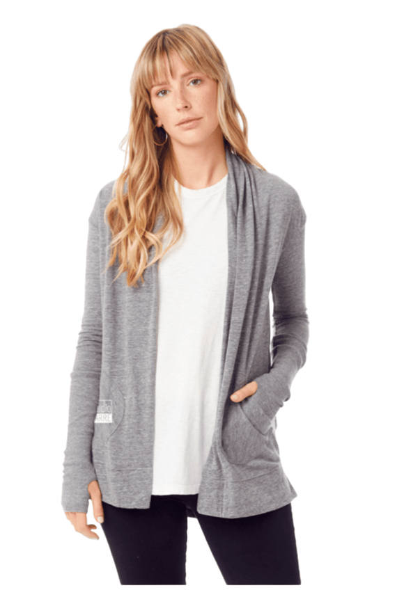 Studio Barre Logo Wrap Sweater
