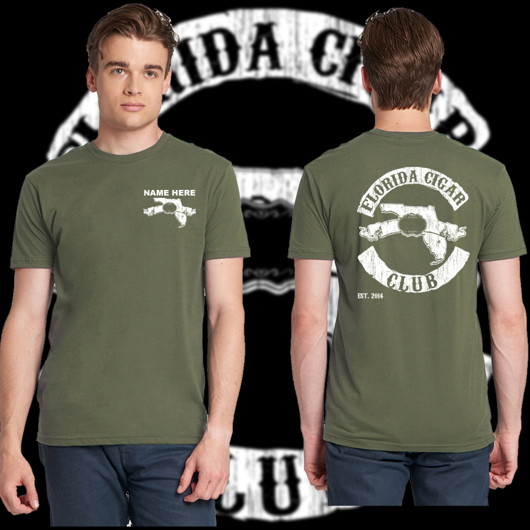 FCC - Men's T-Shirt - Military Green