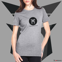 Load image into Gallery viewer, Be Fierce Icon+Website - Women's T-Shirt