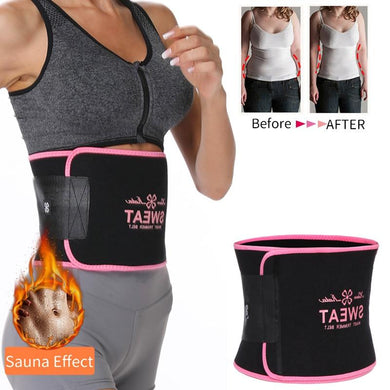 Neoprene Waist Trainer Belt Sweat Waist Trimmer