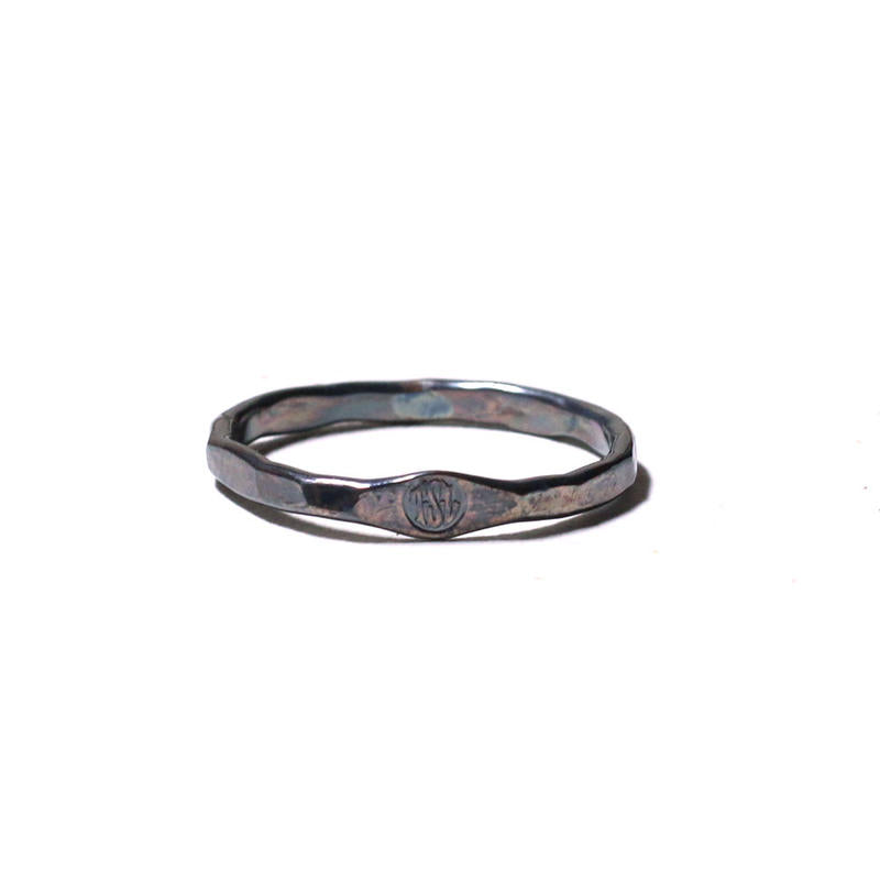 silver fine draw ring