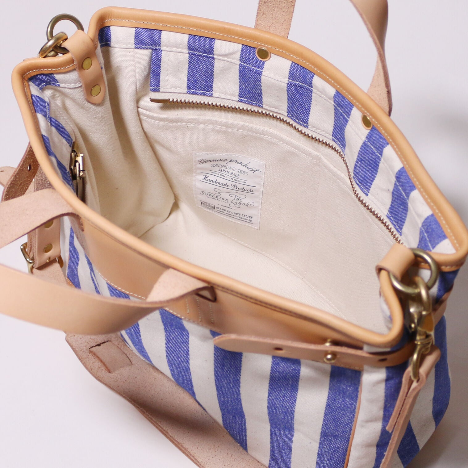 stripe travel bag XS