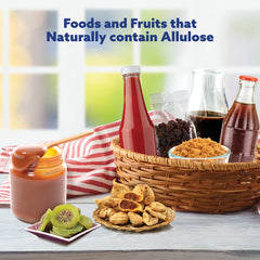 Foods and fruits that contain Allulose naturally