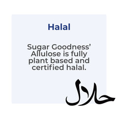 SG Allulose is halal certified