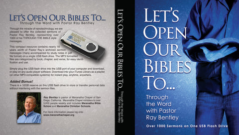 Let's Open Our Bibles To...USB Flash Drive