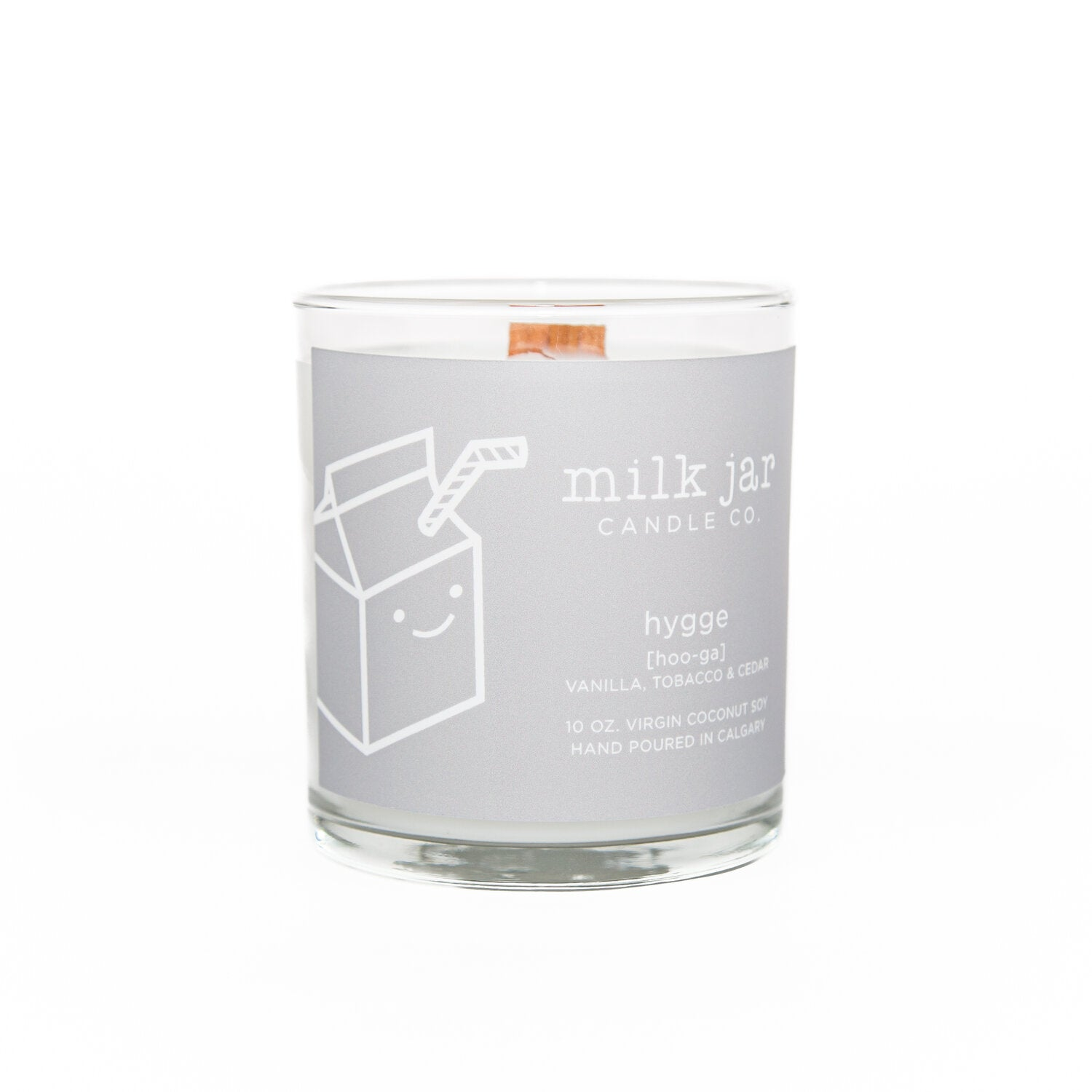 Milk jar candle co. - HYGGE