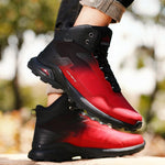 Load image into Gallery viewer, Waterproof Leather Plush Outdoor Hiking Boots