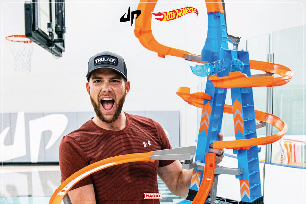 YouTubers Dude Perfect Create Insane Hot Wheels Track