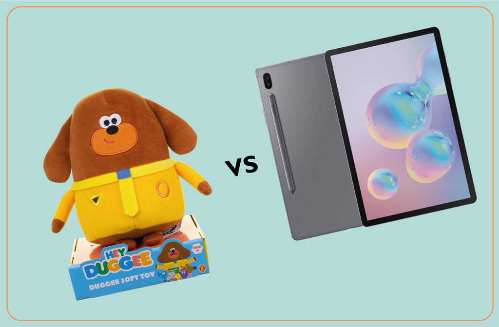 Toys over Tablets: Why traditional toys are better for development in young children