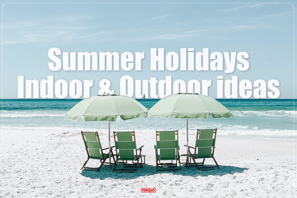 Summer Holiday Indoor & Outdoor Game Ideas