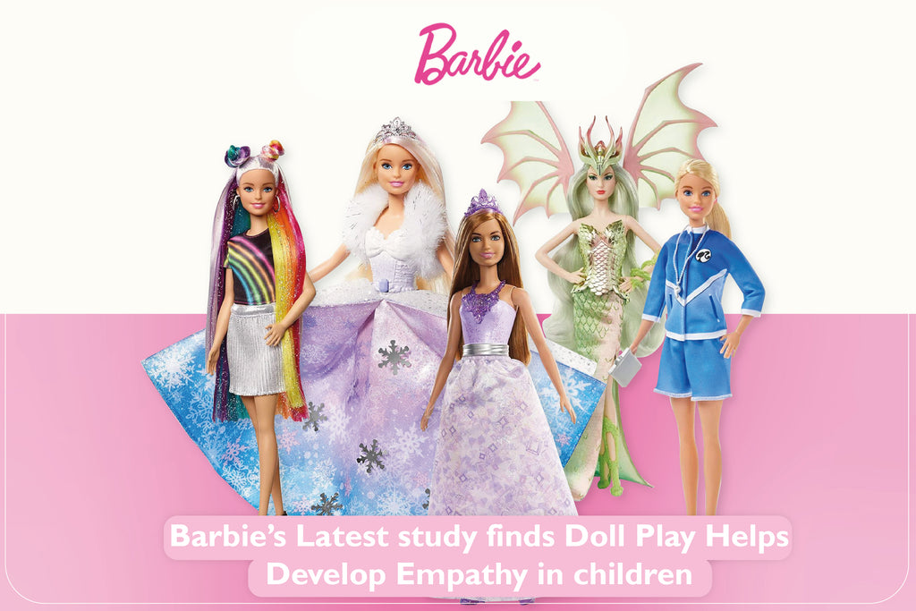 Barbie's Latest Study Finds Doll Play Helps Develop Empathy in Children