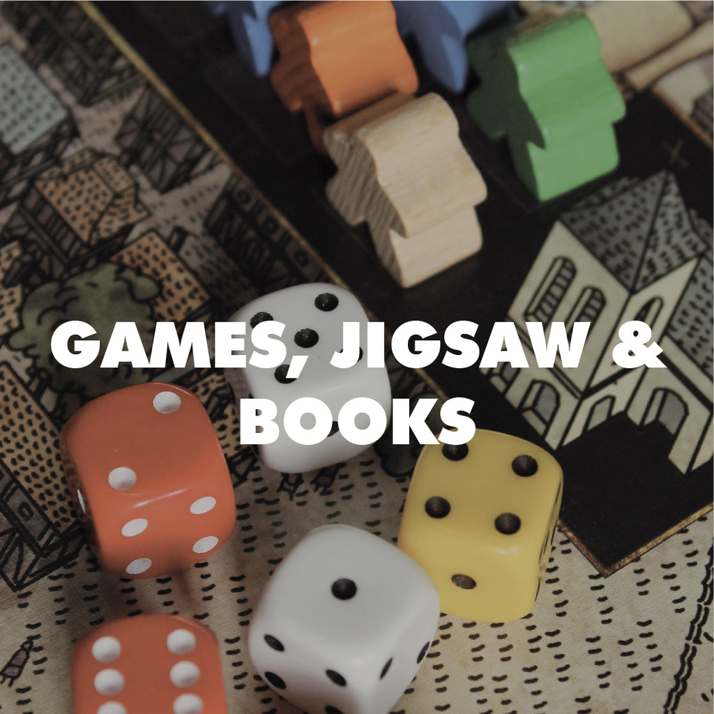 Games, Jigsaws & Books