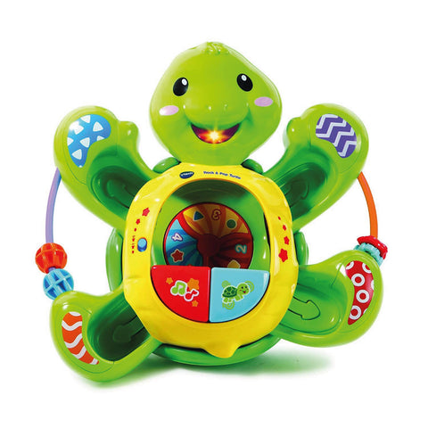 Vtech Baby Rock and Pop Turtle 506103 Electronic Educational Learning Toy