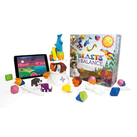 Beasts of Balance Digital Tabletop Hybrid Stacking Family Game