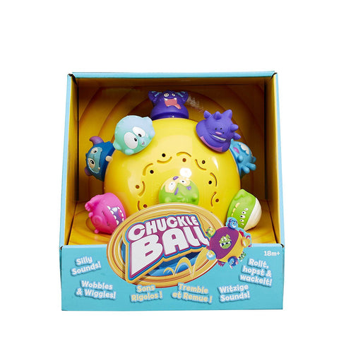 Vivid Imaginations Chuckle Ball Toddler Interactive Toy
