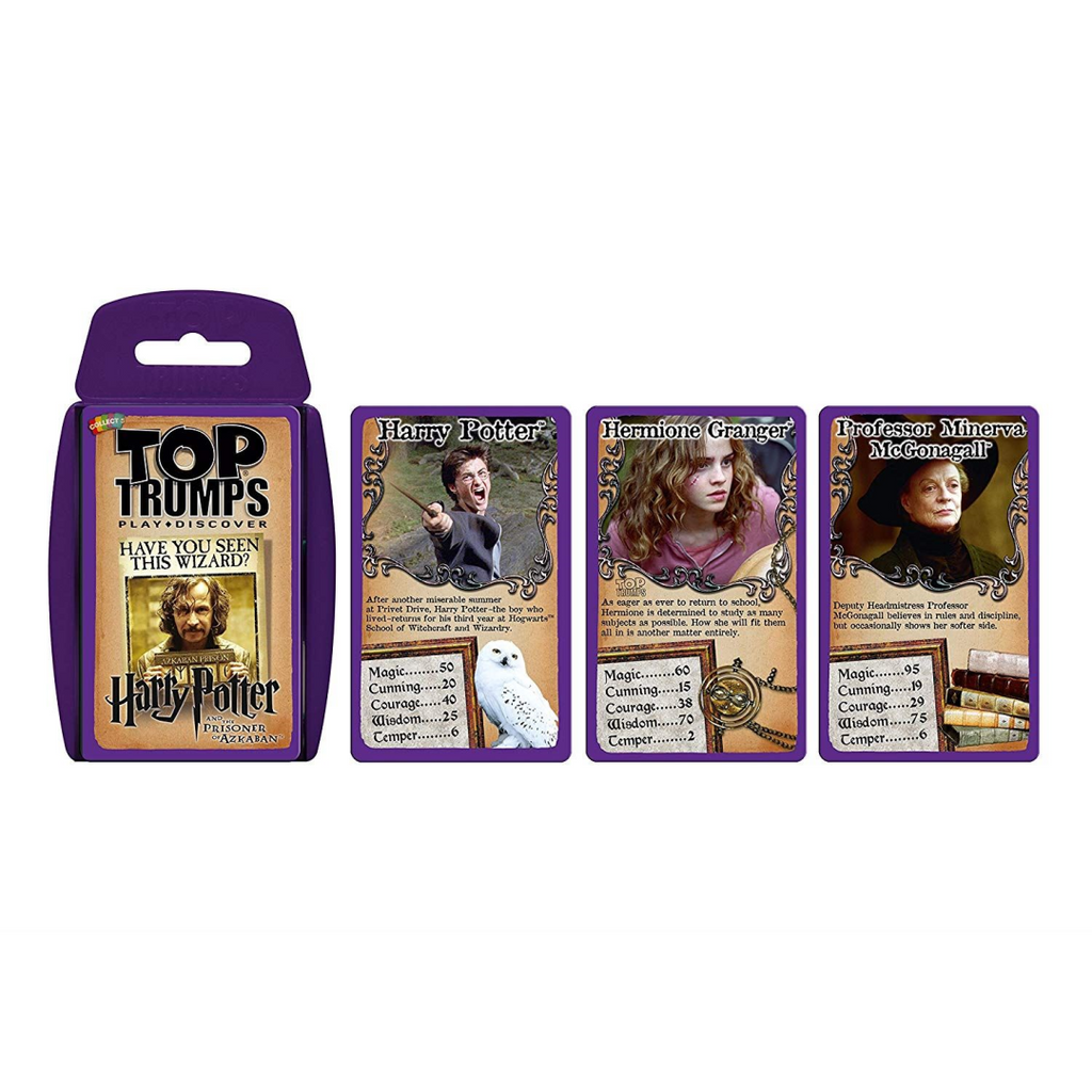Top Trumps Harry Potter and the Prisoner of Azkaban Card Game - Maqio