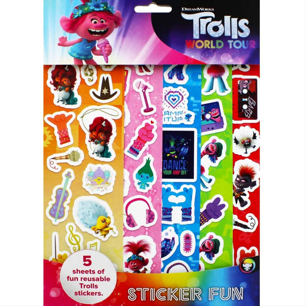 Trolls 2 Sticker Fun - Maqio