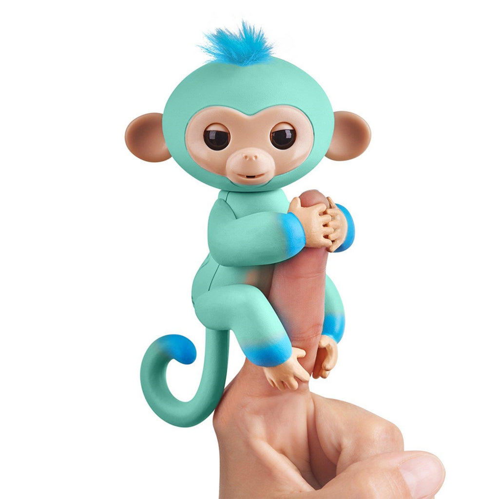Fingerlings Eddie Interactive Monkey 2 Tone Electronic Pet Toy 3724 - Maqio