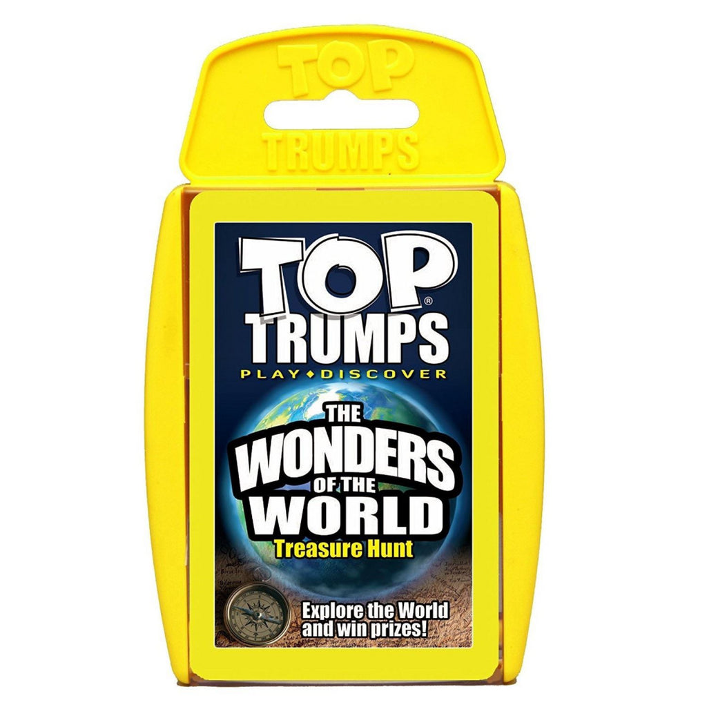 Top Trumps Wonders of the World Card Game - Maqio