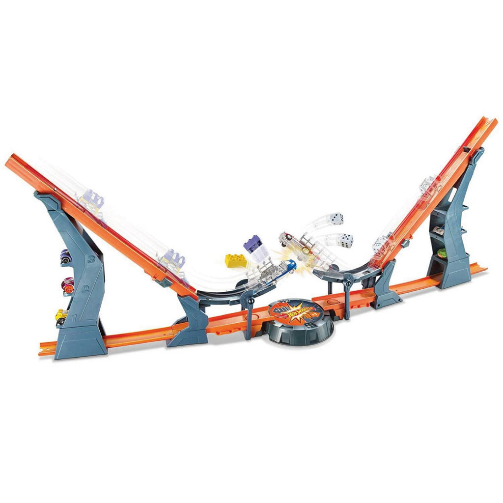 Hot Wheels Versus Track Set Playset - Maqio