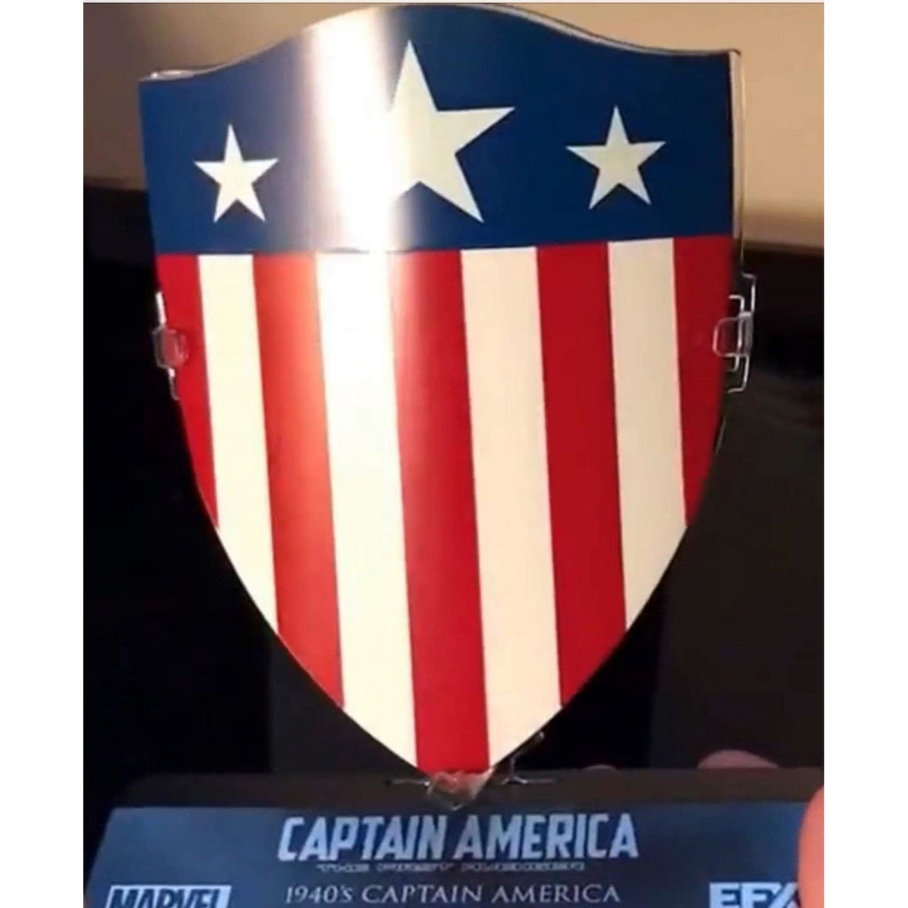 1940's Marvel Captain America The First Avenger Shield 1:6 Scale Official Merchandise - Maqio