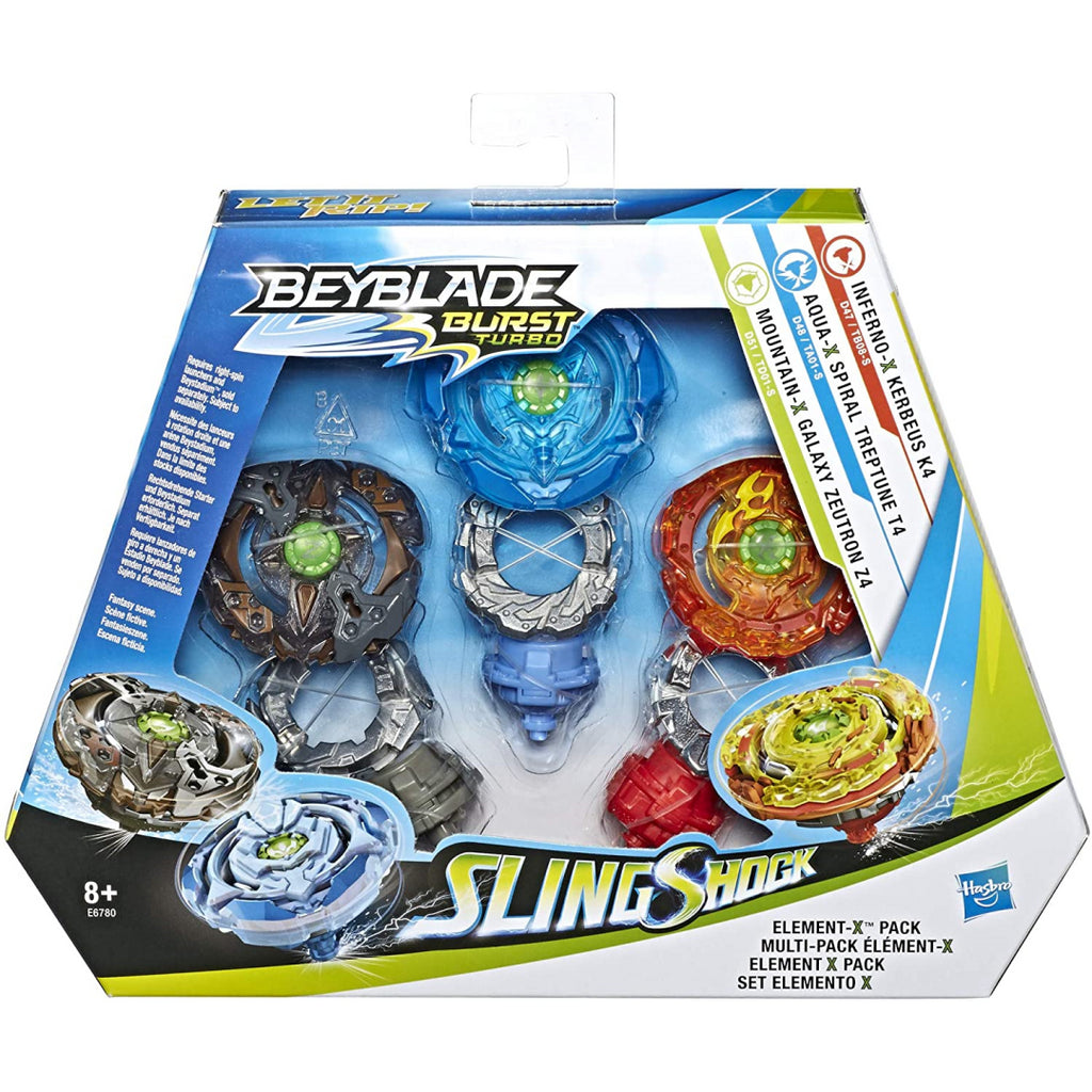 Beyblade Element-X Multi-Pack E6780 - Maqio