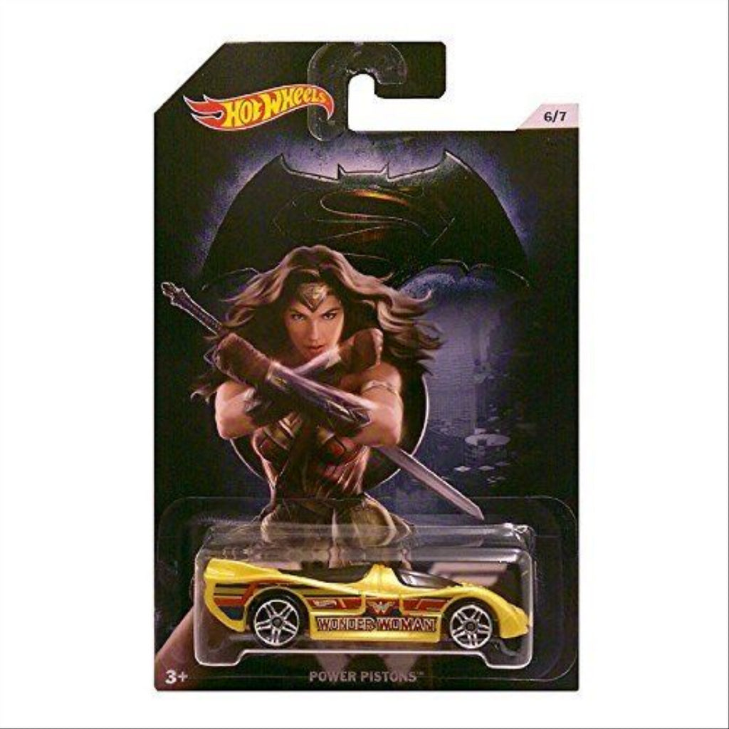 Hot Wheels Batman V Superman Dawn of Justice COMPLETE Set of 7 Diecast Collectible Vehicles - Maqio