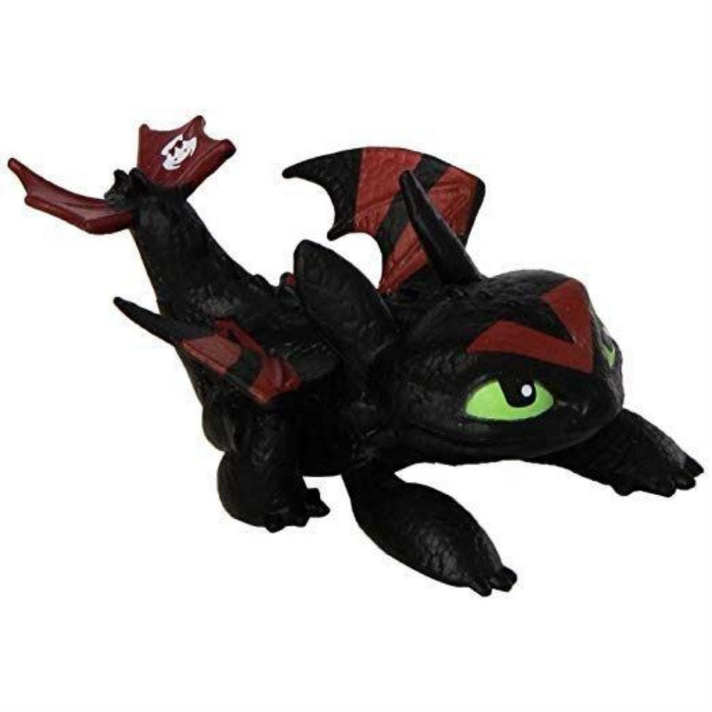 Dragons Defenders of Berk Racing Dragon Action Minifigure - Toothless - Maqio