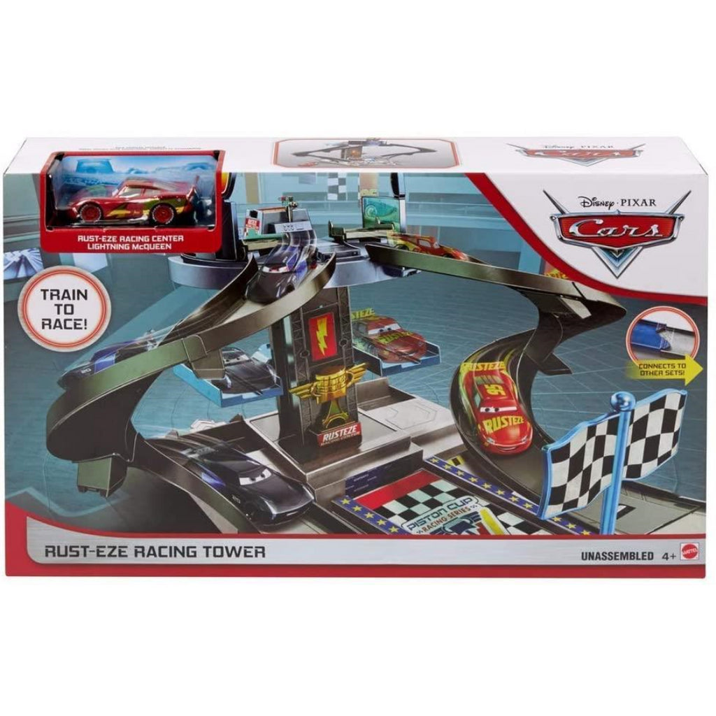 Disney Pixar Cars GJW42 Rust-eze Racing Tower - Maqio