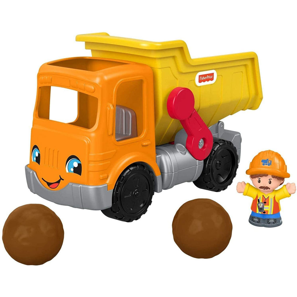 Fisher-Price Little People Work Together Dump Truck GKR56 - Maqio