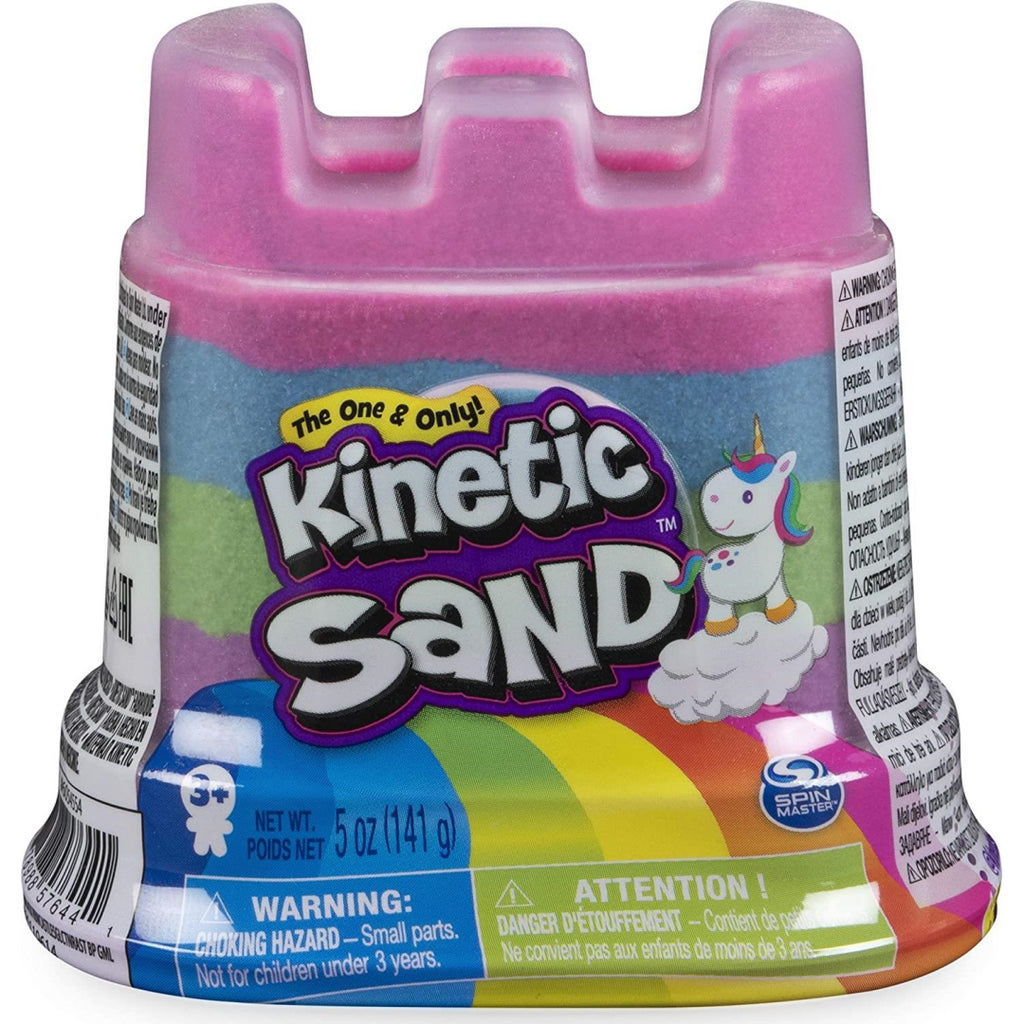 Kinetic Sand Rainbow Unicorn Multi-Colour 142g Single Container 6054549 - Maqio
