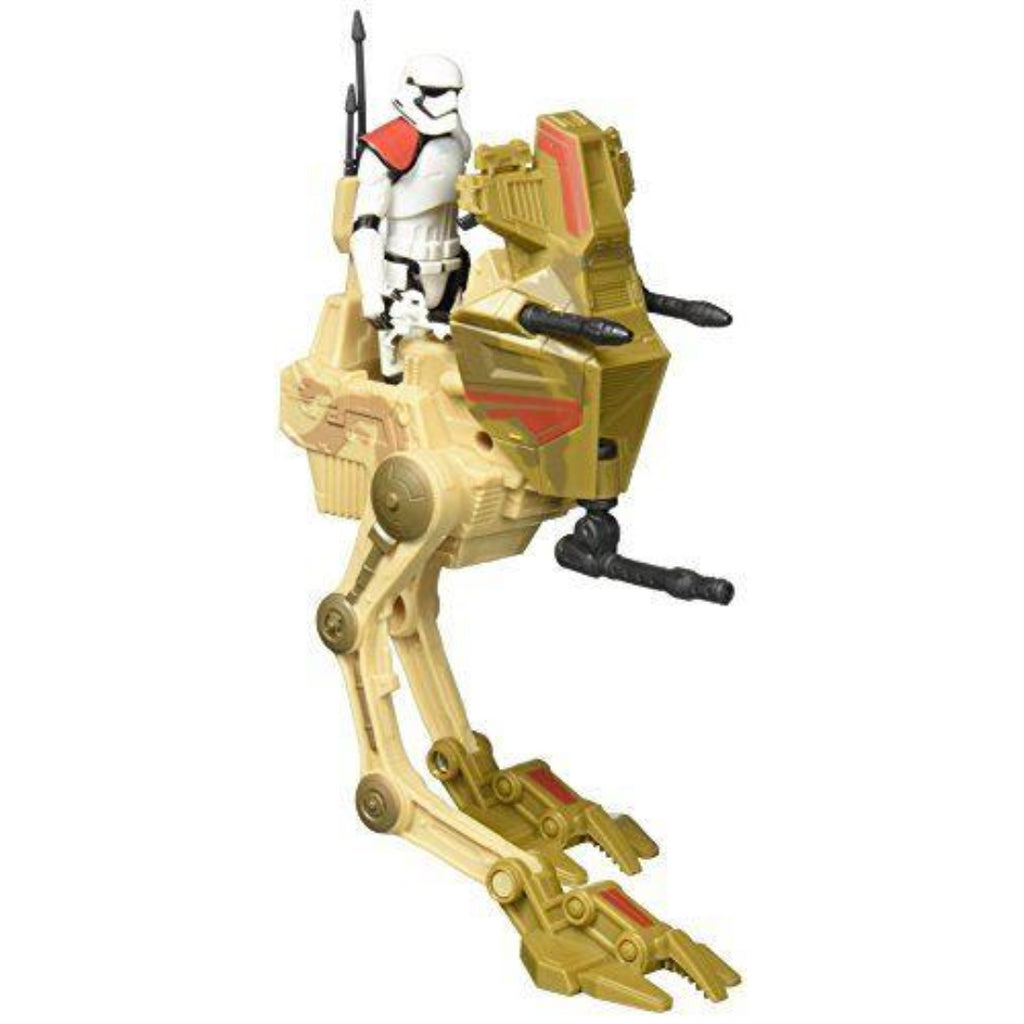 Star Wars The Force Awakens Desert Assault Walker Vehicle with First Order Storm - Maqio