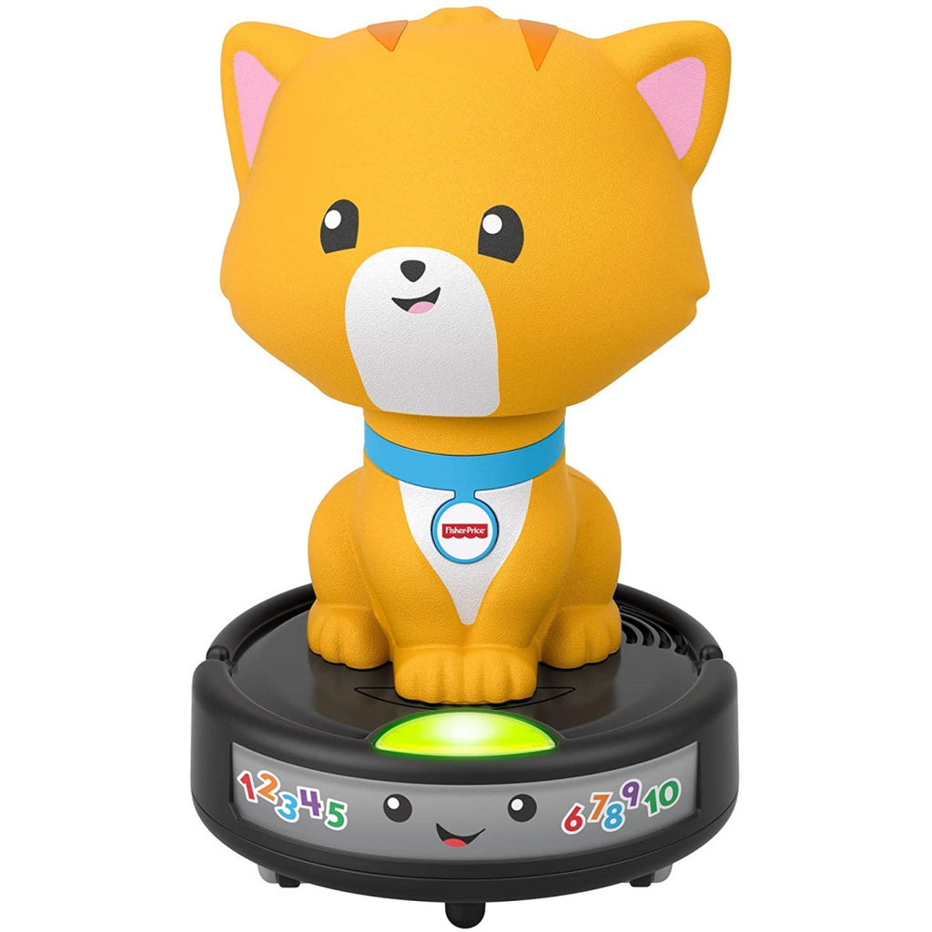 Fisher-Price Laugh & Learn Crawl-after Cat on a Vac GMX70 - Maqio