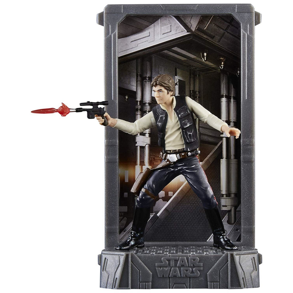 Star Wars The Black Series Titanium Series Han Solo Toy Figure - Maqio
